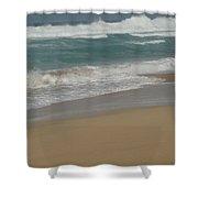 West Beach Shower Curtain