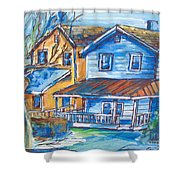 West Cape May Nj Shower Curtain