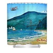 West Coast Dream Shower Curtain