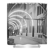 West End Archway Dallas Texas Shower Curtain