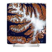 West Fjords Shower Curtain