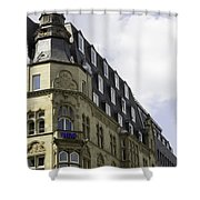 West German Broadcasting Cologne Germany Shower Curtain