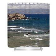West Maui Beach Shower Curtain