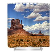 West Mitten  Shower Curtain