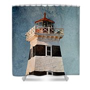 West Point Lighthouse 7 Shower Curtain