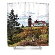 West Quoddy 4041 Shower Curtain
