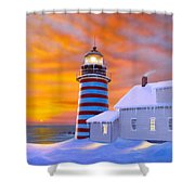 West Quoddy Shower Curtain