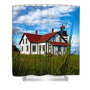 West Quoddy_5421 Shower Curtain