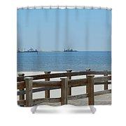 West Side Pier 1 Shower Curtain