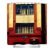 West Side Walk Up Shower Curtain