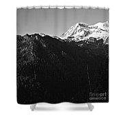 West Slope Mt. Rainier Shower Curtain