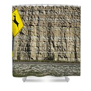 West  Texas  Interstate 10  At  80  Mph - 2 Shower Curtain