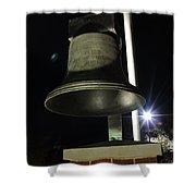 West Virginia Bell Shower Curtain