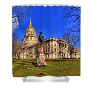 West Virginia State Capitol Building Shower Curtain