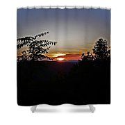 West Virginia Sunset 1 Shower Curtain