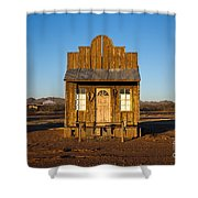 Western Building Shower Curtain