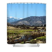 Western California Shower Curtain