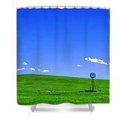 Western Hill  Shower Curtain