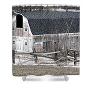 Western New York Farm 1 Shower Curtain