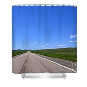 Western Road Shower Curtain