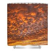 Western Sky - 1 Shower Curtain