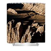 Western Tibet Geology Shower Curtain
