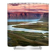 Westfjords Shower Curtain
