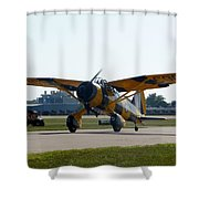 Westland Lysander Shower Curtain