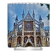Westminster Abbey - North Transept Shower Curtain by Skye Ryan-Evans