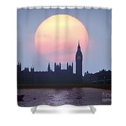Westminster Hour Shower Curtain
