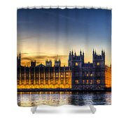 Westminster London Shower Curtain