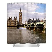 Westminster Pano Color Shower Curtain