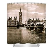 Westminster Pano Mono Shower Curtain