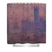 Westminster Tower Shower Curtain