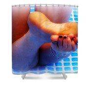 Wet Feet 2 Shower Curtain
