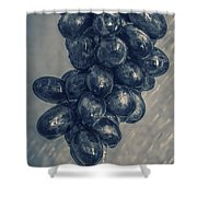 Wet Grapes Five Shower Curtain