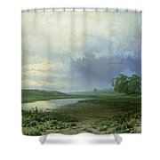 Wet Meadow Shower Curtain