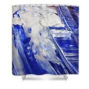 Wet Paint 58 Shower Curtain