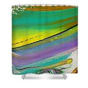Wet Paint 6 Shower Curtain
