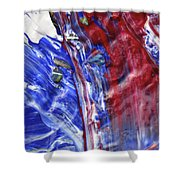 Wet Paint 61 Shower Curtain