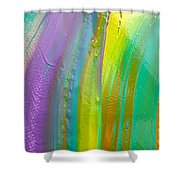 Wet Paint 8 Shower Curtain