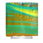 Wet Paint 9 Shower Curtain