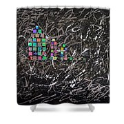 Wet Reflections Shower Curtain