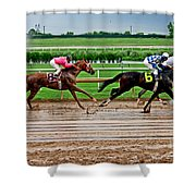 Wet Track 007mx Shower Curtain