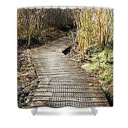 Wetland Walk Shower Curtain