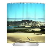 Wetlands In The Dunes Shower Curtain