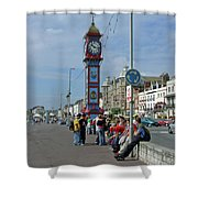 Weymouth Esplanade Shower Curtain