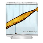 Whale Ahoy Shower Curtain