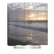 Whale In The Clouds Shower Curtain