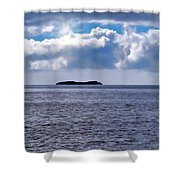 Whale Watch 5 Shower Curtain